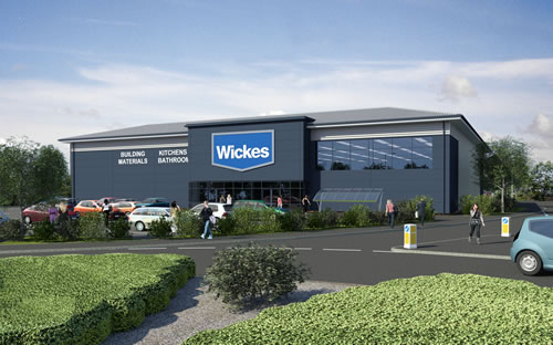 New Retail Warehouse pre-let to Wickes